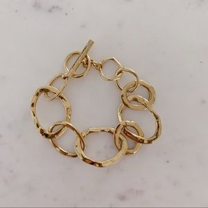 Chloe + Isabel Gold Plated Chain Link Bracelet